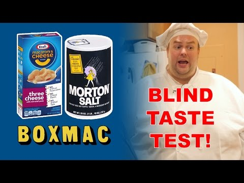 BoxMac 63: Blind Taste Test! Salt, Saltless, and Pre-mixed Cheese