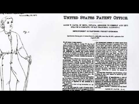 20th May 1873: Levi Strauss & Co. patents riveted blue jeans