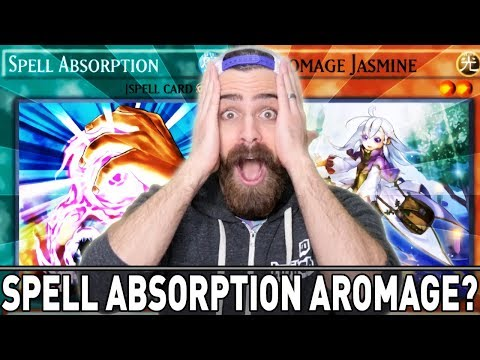 SPELL ABSORPTION AROMAGE!! | YuGiOh Duel Links PVP Mobile & Steam w/ ShadyPenguinn