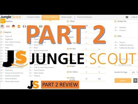 JungleScout Review 100% Growth In Amazon Sales  Must For All Amazon Sellers  PART 2