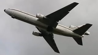 Last Passenger DC-10 Takeoff At Birmingham Airport - February 2014