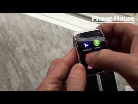 Samsung Gear S sneak peek