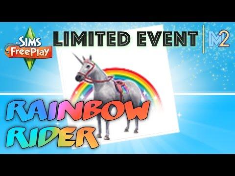 Sims FreePlay - Rainbow Rider Unicorn Quest