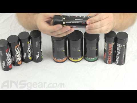 Enola Gaye Smoke Grenades - Review