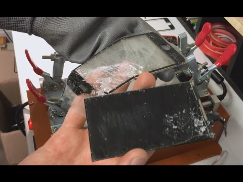iPhone 5 5S 5C Removing Glass