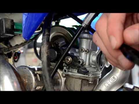 125cc pit bike carby service