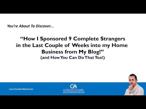 How to Sponsor People from your Blog