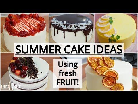 SATISFYING Cakes Compilation Using Fresh Fruit - 5 Amazing Spring Cake Recipes