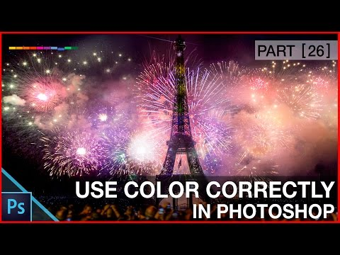 Photoshop Color Basics Tutorial  - Photoshop Eye Dropper and  Color Swatches