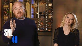 Kate Informs SNL Host Louis C.K. That It
