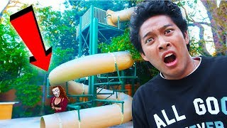 Download EVIL HACKER GIRL TRAPPED ME IN GIANT WATERSLIDE!! Video