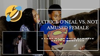 """Patrice O'Neal vs Not-Amused Female - """"I can't make your sad life better"""" (FUNNY!)