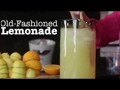 How To Make Old Fashioned Lemonade