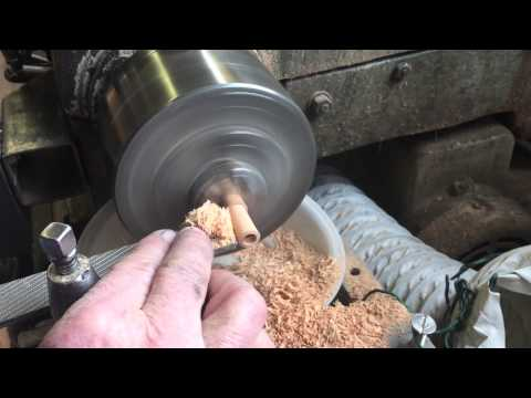 Handcrafting the PEETZ Cherry wood fly reel handle