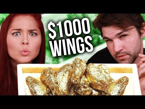 Recreating the $1000 24k GOLD Chicken Wings! (What the Flavor)