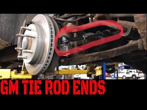 '99-'07 4WD GM Truck Tie Rod End Replacement Video