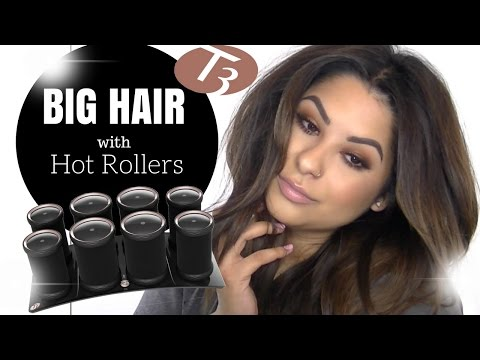 Big Hair with Hot Rollers | T3Micro Volumizing Hot Rollers LUXE
