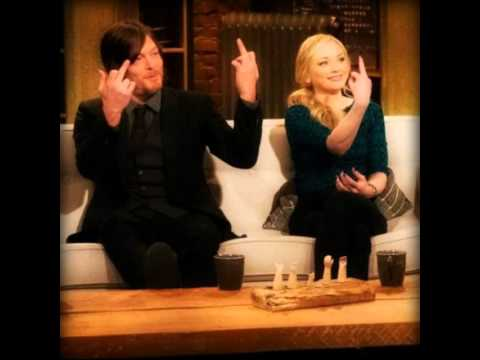 Middle Fingers Up The Walking Dead