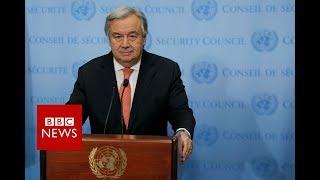 UN Secretary General: No Alternative to two State solution - BBC News