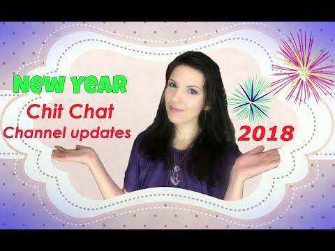 Chit Chat: NEW YEAR - CHANNEL UPDATE and things to come!