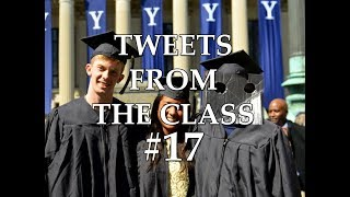 """Tweets From the Class #17: """"Robot Goes to Yale"""""""