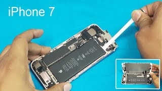 Apple Iphone 7 Battery Replacement || How To Remove Iphone 7 Battery || Iphone 7 Disassembly