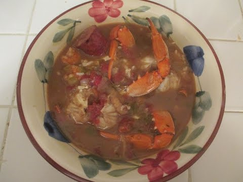 Crab and Shrimp Gumbo..Cajun Style
