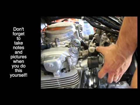Honda CB550F Carb Removal - for nervous beginners