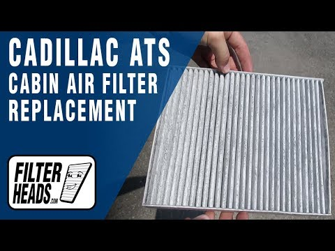 How to Replace Cabin Air Filter 2014 Cadillac ATS