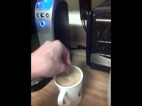 how to make eggnog latte!