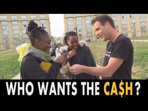 WHO WANTS THE CA$H ? (REMI GAILLARD)