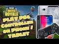 How to play PS4 / PS3 / Xbox Controller on Phone / Tablet (Fortnite, PUBG / Any Game)