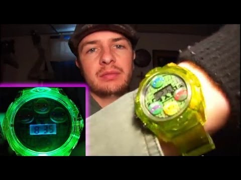 TMNT LED Digital Wrist Watch Review, and How to Set