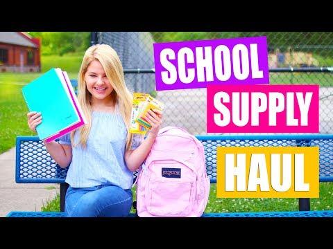 Back to School Supply Haul 2017!
