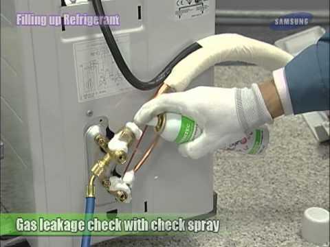 08 Filling up Refrigerant
