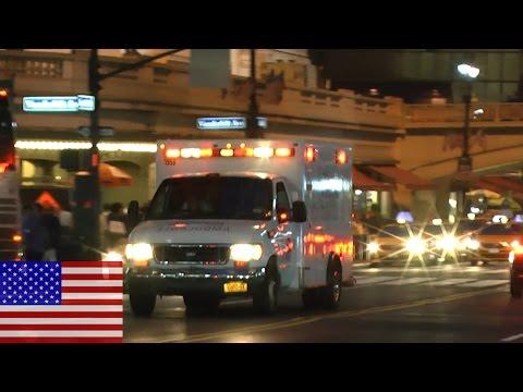[NEW YORK CITY] Grand Central Station responding of an NYU Langone Ambulance