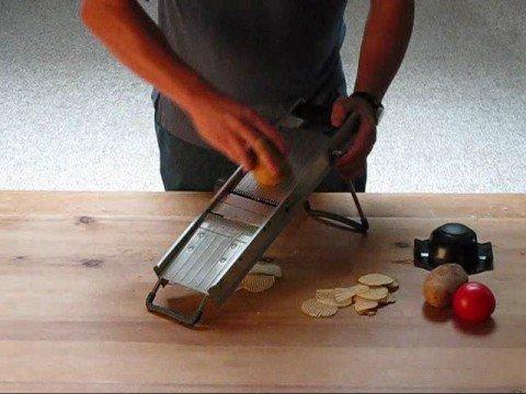 MIU France Mandoline Waffle Cut