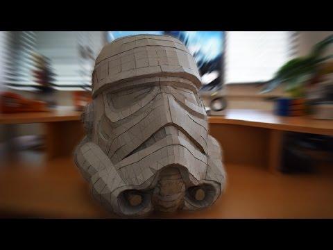 Star Wars - Stormtrooper helmet DIY
