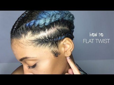 EASY TUTORIAL: How to FLAT TWIST 4c TWA NATURAL HAIR  (WARRIOR PRINCESS PT. II)