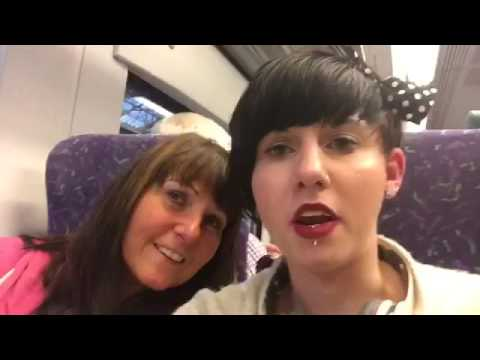 Florida Vlog 1:travelling to Manchester airport!