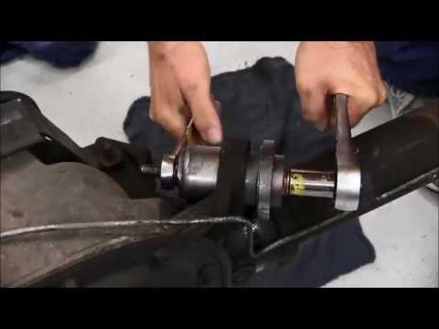 Mustang rear upper control arm bushing tool MMT-1