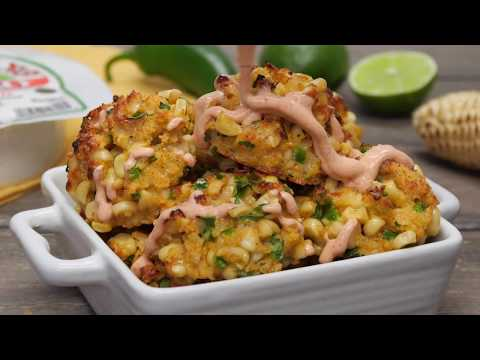 Mexican Street Corn Oven-Baked Croquettes