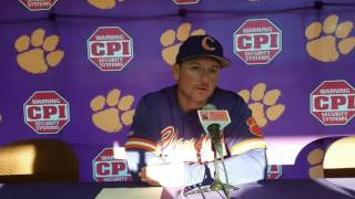 TigerNet.com - Monte Lee post Louisville game two - 5.13.17