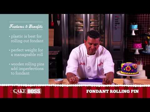 Best Fondant Rolling Pin - Cake Decorating Tools - Cake Boss Baking
