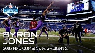 Byron Jones (UConn, DB)   2015 NFL Combine Highlights