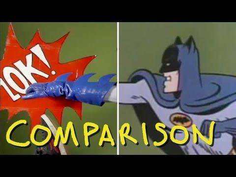 Batman 1966 TV Show Intro - Homemade (Comparison)