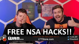 The NSA is Giving Out It's Hacks for Free! - WAN Show Jan 17, 2020