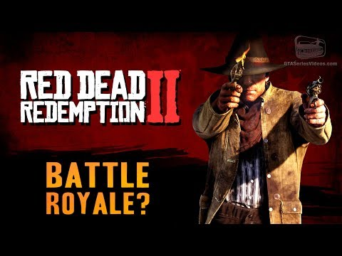 Red Dead Redemption 2 - Battle Royale Mode and More Leaks