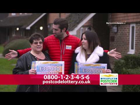 Adverts - 30,000 Reasons To Play - April Play - People's Postcode Lottery