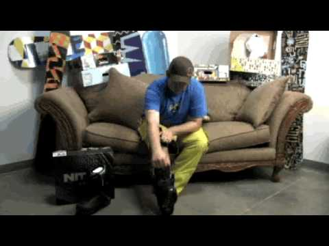 Snowboard Boot Guide - Nitro TLS Lacing System